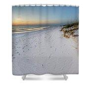 White Beaches Of Cape San Blas Shower Curtain