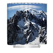 White Cap Shower Curtain