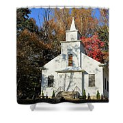 Little Country Church Shower Curtain