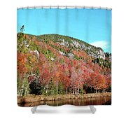 White Face Mt.  Shower Curtain