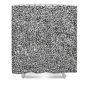 White Forest Shower Curtain