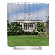 White House Shower Curtain