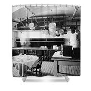 White House Kitchen, 1901 Shower Curtain