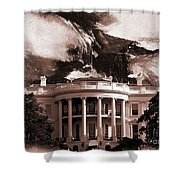 White House Washington Dc Shower Curtain