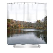 White Mill Park - Fall 1 Shower Curtain