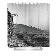 White Nancy At Sunset Shower Curtain