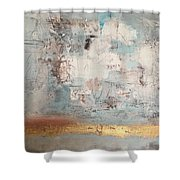 White Noize Shower Curtain
