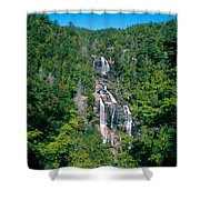 White River Falls Shower Curtain