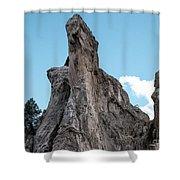White Rock, Garden Of The Gods Shower Curtain