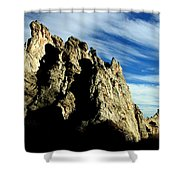 White Rocks Shower Curtain