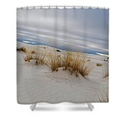 White Sands Iv Shower Curtain