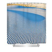 White Sands Magic Hour Shower Curtain