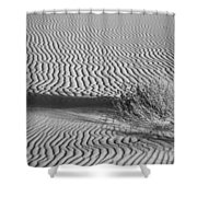 White Sands Ripples Shower Curtain
