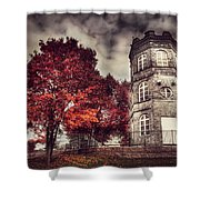 White Tower Of Autumn Shower Curtain