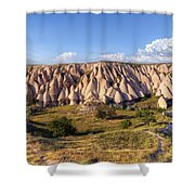 White Valley - Cappadocia Shower Curtain