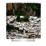 White Village Of Ubrique Spain Shower Curtain
