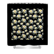 White Water Lily Shower Curtain