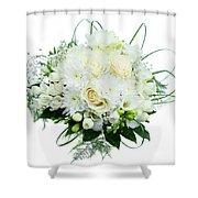 Wedding Bouquet  Shower Curtain