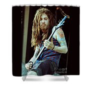 White Zombie 93-jay-0345 Shower Curtain