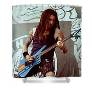 White Zombie 93-jay-0348 Shower Curtain