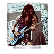 White Zombie 93-jay-0349 Shower Curtain