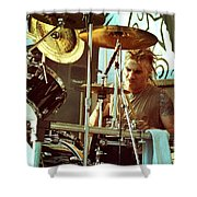White Zombie 93-phil-0357 Shower Curtain