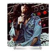 White Zombie 93-rob-0347 Shower Curtain