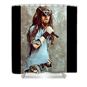 White Zombie 93-rob-0350 Shower Curtain