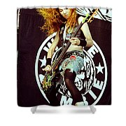 White Zombie 93-sean-0337 Shower Curtain