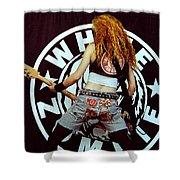 White Zombie 93-sean-0341 Shower Curtain