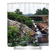 Whitefish Falls Shower Curtain