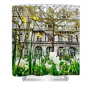 Whitehall Gardens Shower Curtain