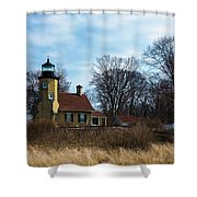Whitehall Light Shower Curtain