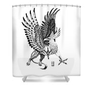 Whitehead Griffin Shower Curtain