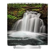 Whitehorse Falls 2 Shower Curtain