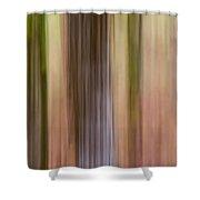 Whiteoak Center Shower Curtain