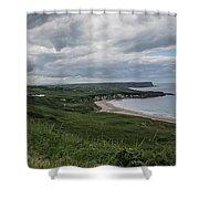 Whitepark Bay Shower Curtain