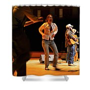 Whitetop Mountain Band In Concert Shower Curtain
