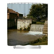 Whitewater Canal Locks Metamora Indiana Shower Curtain