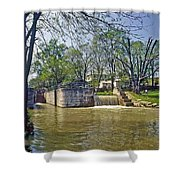 Whitewater Canal Metamora Indiana Shower Curtain