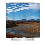 Whitewater Draw Shower Curtain