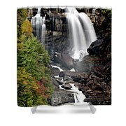 Whitewater Falls - Nc Shower Curtain