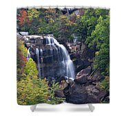 Whitewater Falls In Nc Shower Curtain