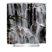 Whitewater Falls Lower Falls 001 Shower Curtain