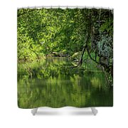 Whitewater River Scene 50 Shower Curtain