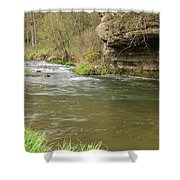 Whitewater River Spring 42 Shower Curtain