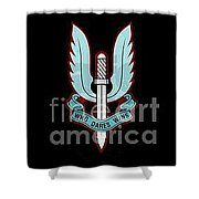 Who Dares Wins Shower Curtain