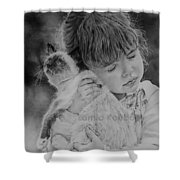 Who Doesn't Need A Hug? Shower Curtain