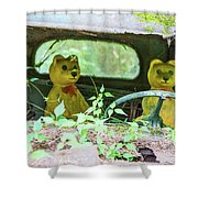 Who Has Been Driving My Truck Shower Curtain