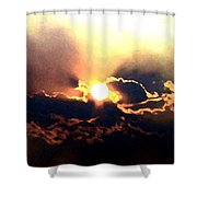 Who Has Kissed The Sun Shower Curtain